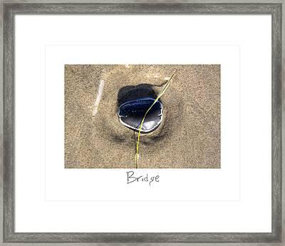 Bridge Framed Print by Peter Tellone
