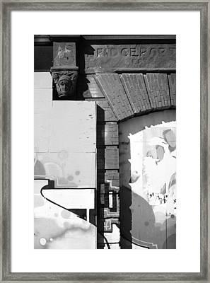 Bridgeport Art Framed Print by Karol Livote