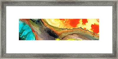 Bridging The Gap Framed Print by Sharon Cummings