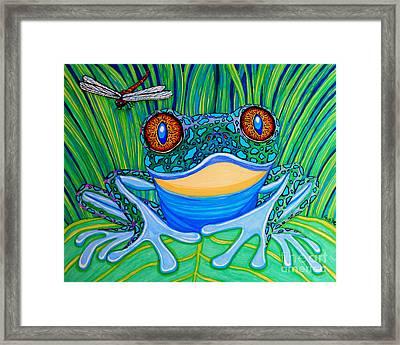 Bright Eyes 2 Framed Print by Nick Gustafson
