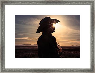 Bright Eyes Framed Print by Todd Klassy