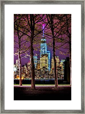 Bright Future Framed Print by Az Jackson