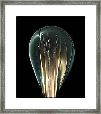 Bright Idea Framed Print by Anastasiya Malakhova