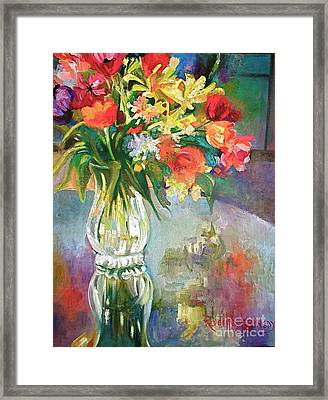 Bright Reflections Framed Print by Reveille Kennedy