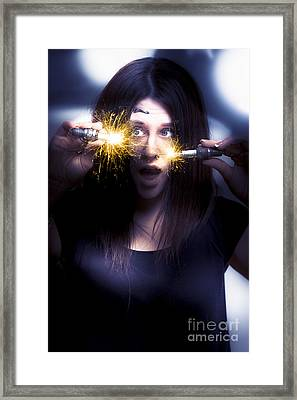 Bright Sparks Framed Print by Jorgo Photography - Wall Art Gallery