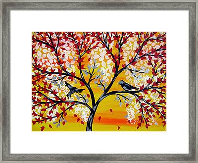 Brighter Days Framed Print by Cathy Jacobs
