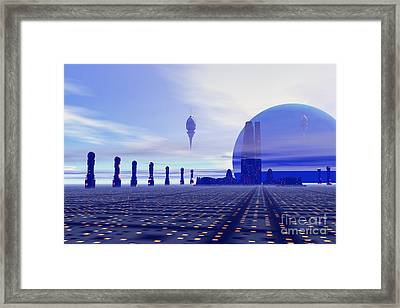 Brighthaven 12 Framed Print by Corey Ford