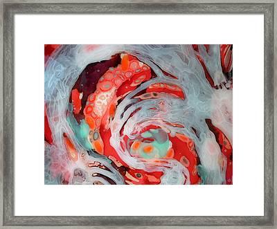 Brightly Painted One #2 Framed Print by Angela McKenzie