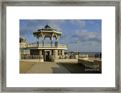 Brighton Bandstand Framed Print by Stephen Smith