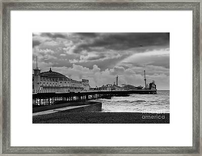 Brighton Pier Framed Print by Stephen Smith