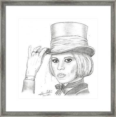 Brigitte Bardot Framed Print by Steven White