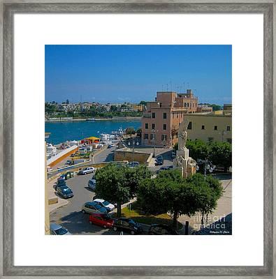 Brindisi- Santa Teresa Square Framed Print by Italian Art
