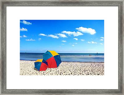 Bring The Umbrella With You Framed Print by Susanne Van Hulst