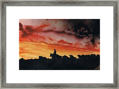 Bringing Them Home Framed Print by Stacey Austin