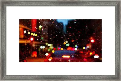 Brisbane Rain Framed Print by Susan Vineyard