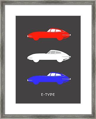 British Icon - Jaguar E Type Framed Print by Mark Rogan