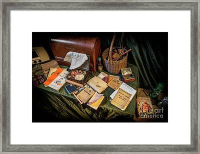 British War Memorabilia  Framed Print by Adrian Evans