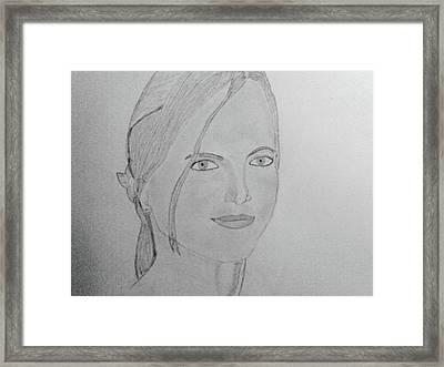 Britney Spears Framed Print by Vivek Raj