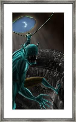 Broack Framed Print by Razvan Turc
