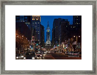 Broad Street Framed Print by John Greim