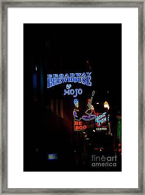 Broadway Brewhouse Framed Print by David Bearden