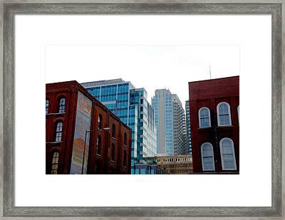 Broadway Nashville Tn Framed Print by Susanne Van Hulst