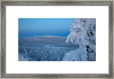 Brockenblick, Harz  Framed Print by Andreas Levi