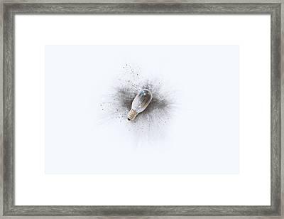 Broken Bulb Framed Print by Scott Norris
