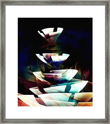 Broken Glass Framed Print by Anastasiya Malakhova