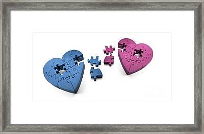 Broken Hearts Framed Print by Jorgo Photography - Wall Art Gallery