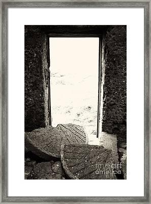Broken Millstone Framed Print by Gaspar Avila