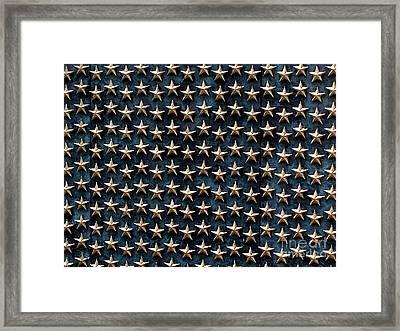 Bronze Stars Framed Print by Steve Grisham