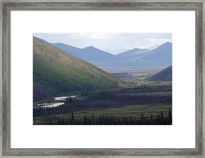 Brooks Range, Alaska Framed Print by Michael S. Quinton