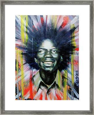 Brother Black... Mcmlxxv Framed Print by Brandon Coley