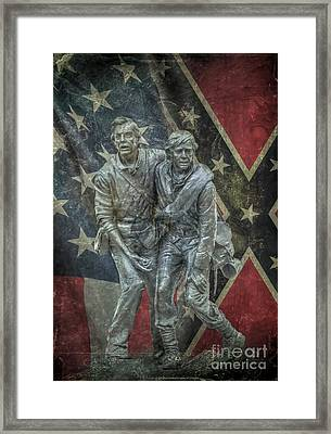 Brothers To The End Framed Print by Randy Steele