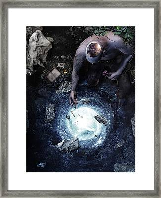 Brought To Light Framed Print by Cameron Gray