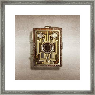 Brownie Six-20 Front Framed Print by YoPedro