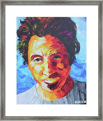 Bruce Springsteen Framed Print by Robert Kirsch