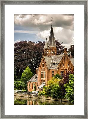 Bruges Framed Print by Pablo Lopez