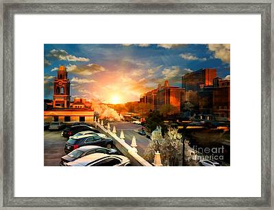 Brush Creek Kansas City Missouri Framed Print by Liane Wright