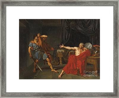 Brutus Framed Print by Celestial Images