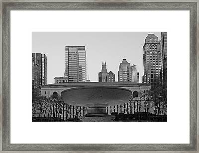 Bryant Park Framed Print by Christian Heeb