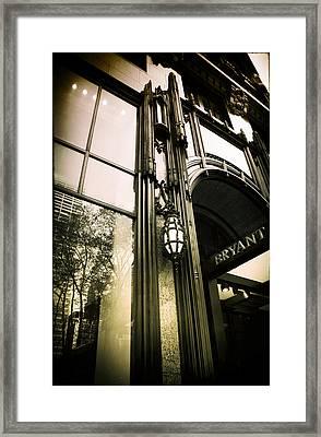 Bryant Park Hotel Framed Print by Jessica Jenney