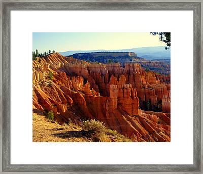 Bryce 3 Framed Print by Marty Koch