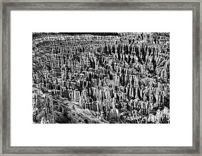 Bryce Canyon National Park Lll Framed Print by Hideaki Sakurai