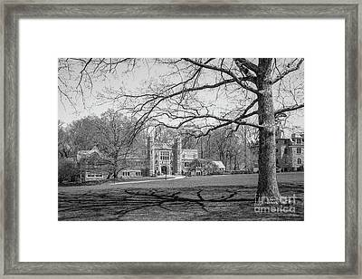 Bryn Mawr College Campus Center Framed Print by University Icons