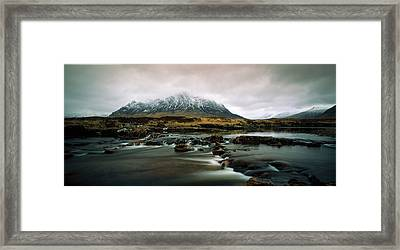 Buachaille Etive Moor Glencoe Highlands Framed Print by Panoramic Images