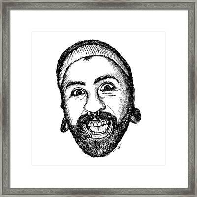 Bubba Framed Print by Karl Addison