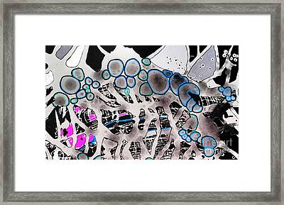 Bubble Core Framed Print by Amy Sorrell