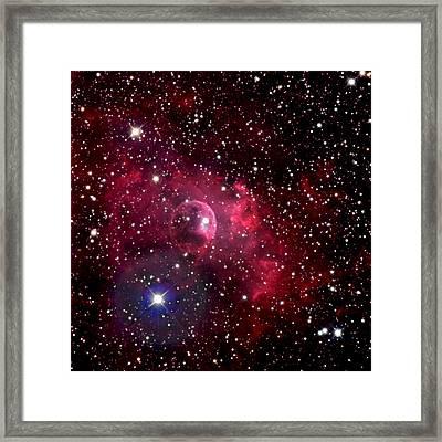 Bubble Nebula Framed Print by Jim DeLillo